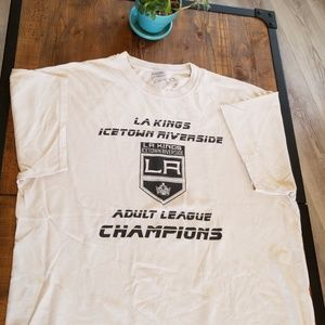 Other - 💎Free with bundle💎 LA Kings white shirt